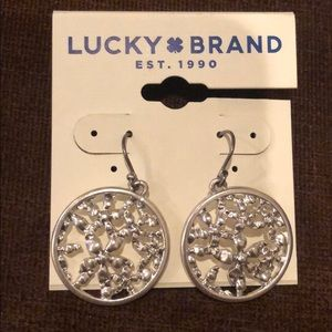 Silver Lucky Earrings